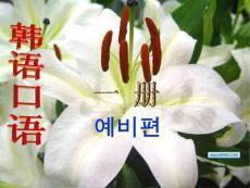 韩语基础入门 韩语口语学习.ppt