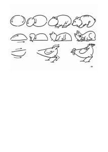 【简笔画大全】儿童简笔 动物简笔 猫狗图片 幼儿简笔 人物简笔 兔子简笔