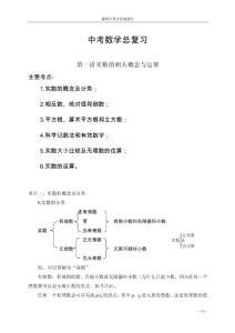 中考数学复习
