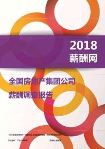 2018全国房地产集团公司薪酬报告.pdf