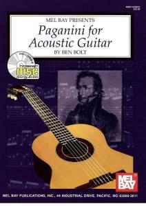 Paganini  Niccolo - Paganini for Acoustic Guitar (arr. Ben Bolt) - 1999