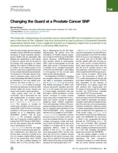 Changing-the-Guard-at-a-Prostate-Cancer-SNP_2018_Cell