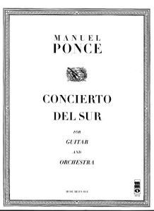 Concierto Del Sur Score Guitar(Ponce)