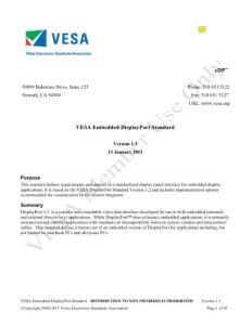VESA eDP_v1_3 (Embedded displayPort Standard)
