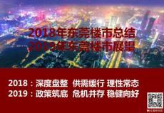 【2018房地产年报】2018年东莞楼市总结及2019年展望