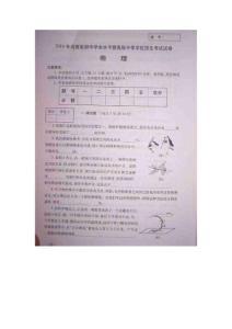 2010年河南中考物理试题含答案