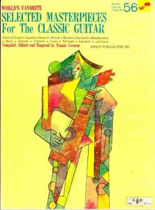 World´s Favorite Selected Masterpieces for the Classic Guitar