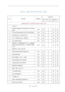 2018年最新建筑工程文件归..