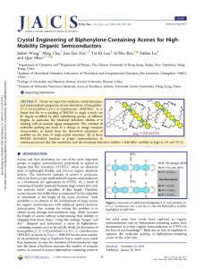 crystal engineering of b..