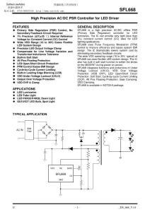 5w LED驱动电源方案