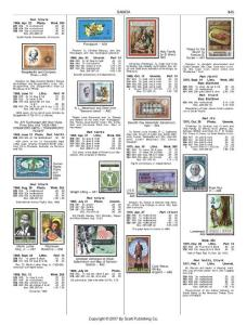 斯科特世界邮票目录-Scott 2008 Standard Postage Stamp Catalogue Volume 6-5.(国家P-Sl)_7-7