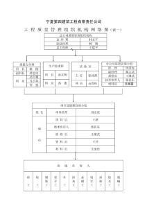 工程质量网络体系图 Micro..