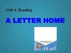 高中英语课件U4P2Reading(新人教版选修7)
