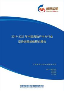 【完整版】2019-2025年中國房地產中介行業逆勢突圍戰略研究報告