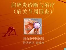 肩周炎诊断与治疗ppt课件