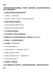 2019年中国民营经济报告