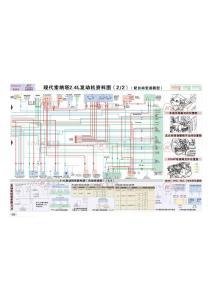 索納塔(自動變速箱)2.4L發動機資料電路圖2
