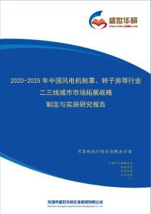 【完整版】2020-2025年中国风电机舱罩、转子房等行业二三线城市市场拓展策略制定与实施研究报告