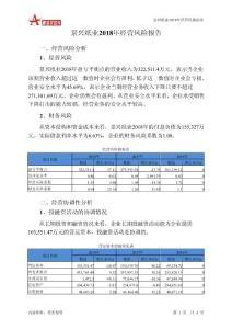 景兴纸业2018年经营风险报告-智泽华