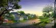 重庆涪陵区某蓝天园林总设计效果图(6张)