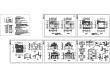 某二层带阁楼层框架结构花园式别墅设计cad全套建筑施工图(含设计说明,含结构设计)