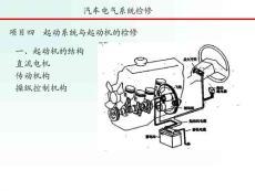 项目4 起动与起动系统检修