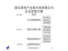 xx有限公司公司企業改制方案