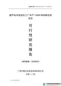 中撰咨询-葫芦岛市前进化工厂年产13000吨锌粉项目可行性报告