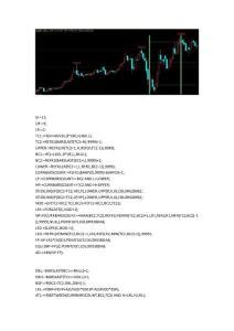 期貨指標公式文華財經期貨指標 黃金分割直尺畫線指標