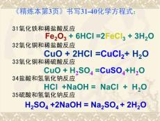 九年級復習課件 化學第六單..