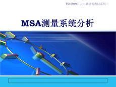 經典詳細的msa培訓資料ppt精選文檔
