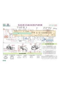 马自达普力马组合仪表电气资料图