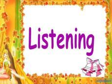 高中英语听力公开课课件ppt课件