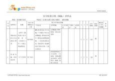 消防设施安全检查分析SCL评价表