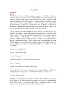 英语中级听力原文