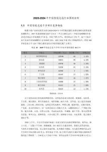 2020-2024年中国智能交通行业预测分析