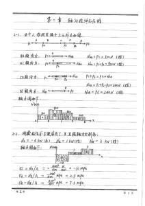 习题答案 宋子康材料力学第二章