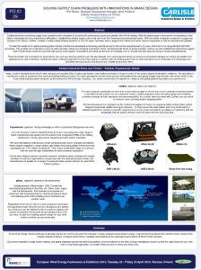 EWEC 2010 欧洲风电学会2010年会发表 - Supply chain