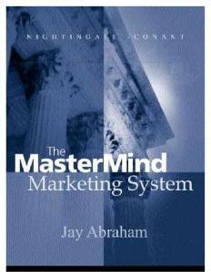 Jay Abraham_Mastermind ..