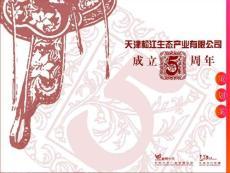天津松江某公司成立五周年庆典活动策划方案