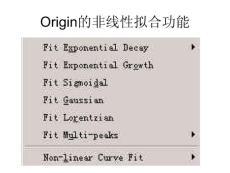 origin软件的使用範例