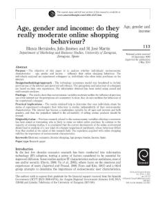 Age gender and income_do you really moderate online behavior