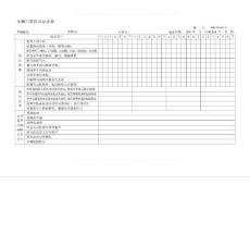 车辆管理_车辆日常保养记录表