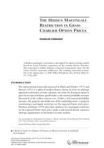 金融证券经济市场理论分析