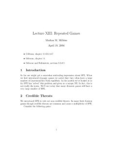博弈论英文版lecture13