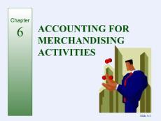 对外经济贸易大学会计学专业英语课件