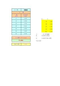 测力环系数自动计算表