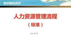 2011年人力资源管理流程(标准)