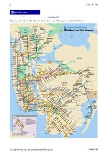 纽约地铁图