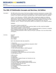 The IMS IP Multimedia Concepts and Services  3rd Edition